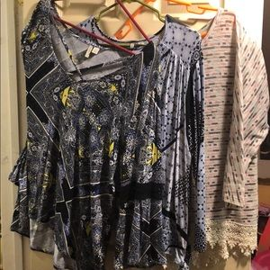 3-Fall Cato brand size XL ladies tops